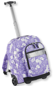 rolling backpack!