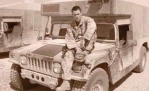 HM3 Drew Provost, USN, Fallujah, July 2005